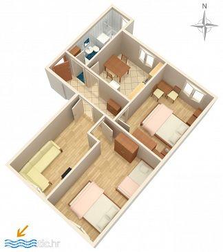 Apartment A-2806-a - Apartments Omiš (Omiš) - 2806