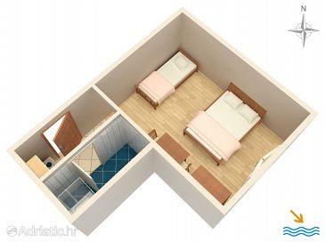 Studio flat AS-2810-c - Apartments Orij (Omiš) - 2810