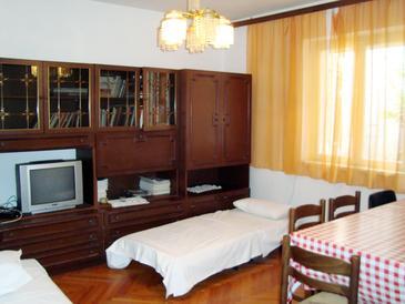 Mali Rat, Living room u smještaju tipa apartment, WIFI.