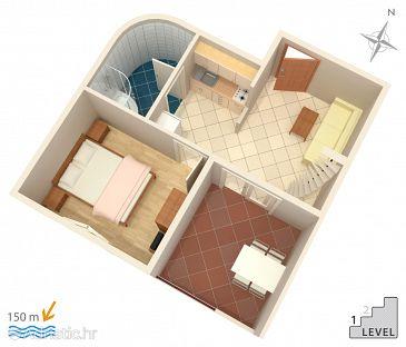 Apartment A-2812-e - Apartments Duće (Omiš) - 2812
