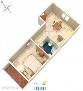 Apartment A-2816-a - Apartments Zaostrog (Makarska) - 2816