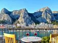 Balcony - view - Apartment A-2822-a - Apartments Omiš (Omiš) - 2822