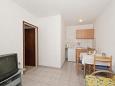 Supetar, Dining room u smještaju tipa apartment, dostupna klima, dopusteni kucni ljubimci i WIFI.