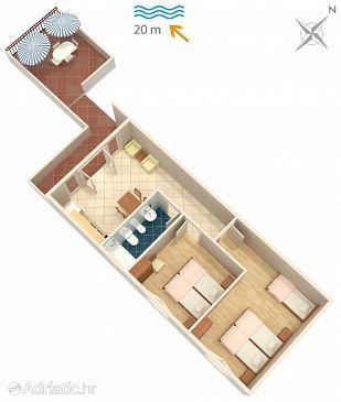 Apartment A-284-a - Apartments Luka Dubrava (Pelješac) - 284