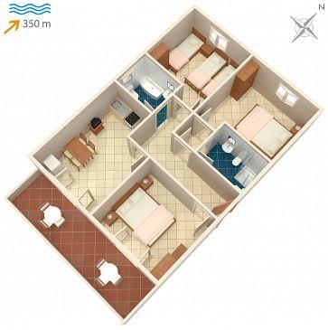 Apartament A-2841-a - Apartamenty Mirca (Brač) - 2841