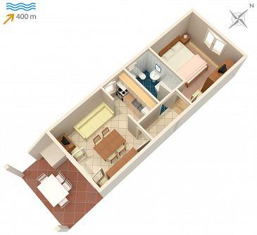 Apartament A-2843-d - Apartamenty Mirca (Brač) - 2843