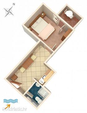 Apartment A-2858-b - Apartments Splitska (Brač) - 2858