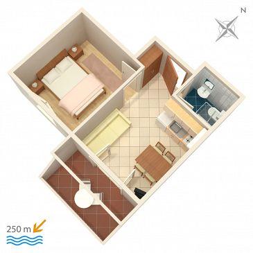 Apartment A-2873-c - Apartments and Rooms Bol (Brač) - 2873