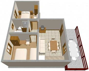 Apartment A-290-a - Apartments Nin (Zadar) - 290