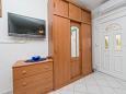 Nin, Dining room u smještaju tipa apartment, dostupna klima i WIFI.