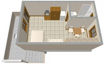 Studio flat AS-290-b - Apartments Nin (Zadar) - 290