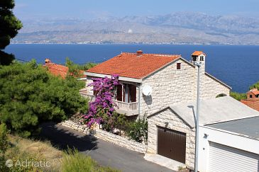 Property Postira (Brač) - Accommodation 2909 - Apartments near sea with pebble beach.