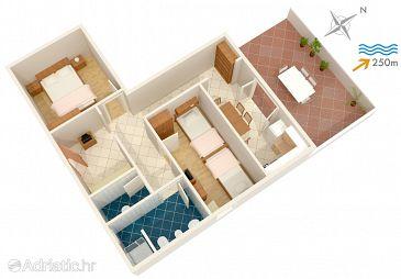 Apartment A-2919-b - Apartments Postira (Brač) - 2919
