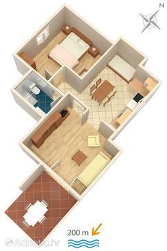 Apartament A-2921-b - Apartamenty Bol (Brač) - 2921
