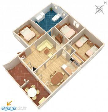 Apartment A-293-a - Apartments Zadar - Diklo (Zadar) - 293