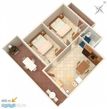 Apartment A-294-c - Apartments Vir - Torovi (Vir) - 294