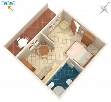 Studio AS-2954-a - Apartamenty Povlja (Brač) - 2954