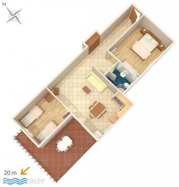Apartment A-2970-b - Apartments Ražanj (Rogoznica) - 2970