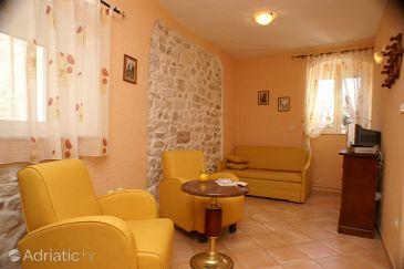 Trogir, Living room u smještaju tipa room, dostupna klima, dopusteni kucni ljubimci i WIFI.
