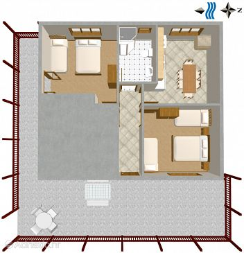 Apartment A-2985-a - Apartments Vinišće (Trogir) - 2985