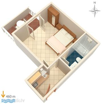 Studio flat AS-2995-d - Apartments Vodice (Vodice) - 2995