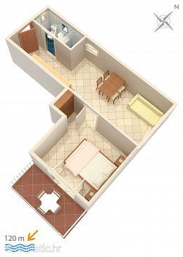 Apartment A-300-c - Apartments Baška Voda (Makarska) - 300