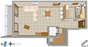 Apartment A-3001-b - Apartments Split (Split) - 3001