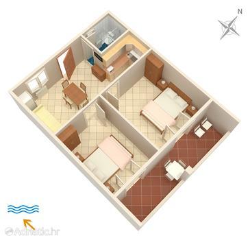 Apartment A-3009-b - Apartments Funtana (Poreč) - 3009