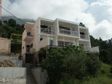 Property Baška Voda (Makarska) - Accommodation 301 - Apartments and Rooms with pebble beach.