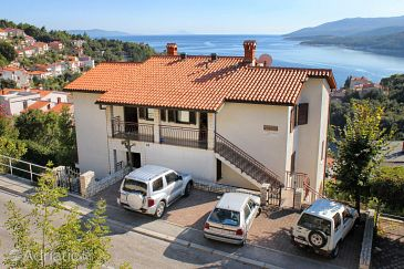 Property Rabac (Labin) - Accommodation 3015 - Apartments with pebble beach.