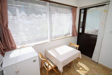 Mali Lošinj, Dining room u smještaju tipa apartment, WIFI.