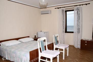 Zambratija, Bedroom u smještaju tipa room, dopusteni kucni ljubimci.