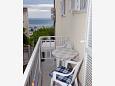Balcony - Studio flat AS-3059-a - Apartments Baška Voda (Makarska) - 3059