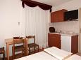 Kitchen - Studio flat AS-3059-a - Apartments Baška Voda (Makarska) - 3059