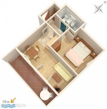 Apartment A-3073-d - Apartments and Rooms Vinišće (Trogir) - 3073