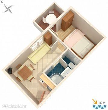 Apartment A-3073-f - Apartments and Rooms Vinišće (Trogir) - 3073