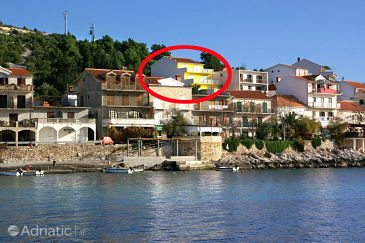 Milna, Hvar, Property 3074 - Apartments and Rooms blizu mora with pebble beach.