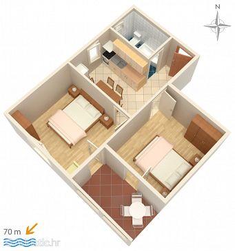 Apartment A-3084-c - Apartments Mandre (Pag) - 3084