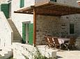 Terrace - House K-3101 - Vacation Rentals Sumartin (Brač) - 3101