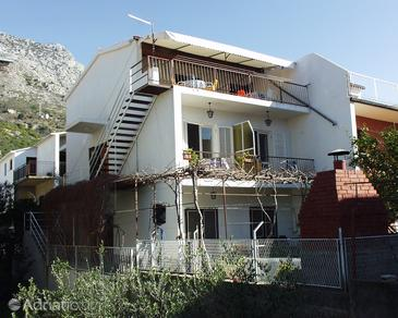 Property Podaca (Makarska) - Accommodation 313 - Apartments near sea with pebble beach.