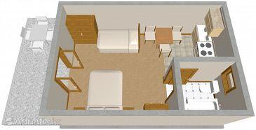 Studio flat AS-314-b - Apartments Podaca (Makarska) - 314