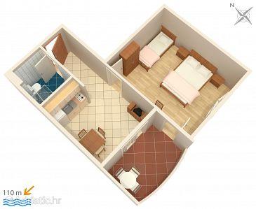 Apartment A-3162-g - Apartments Trpanj (Pelješac) - 3162