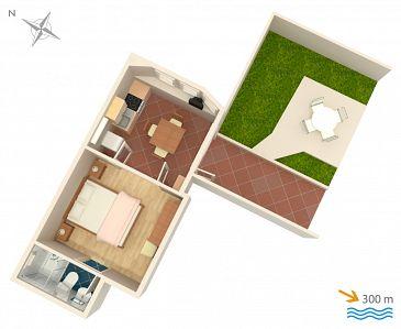 Studio flat AS-3167-c - Apartments Mlini (Dubrovnik) - 3167