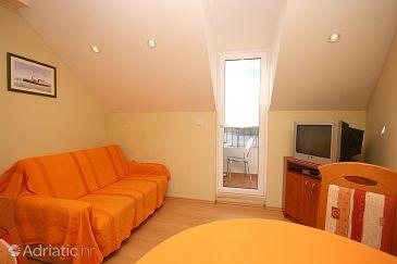 Dubrovnik, Living room u smještaju tipa apartment.