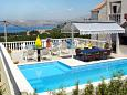 Courtyard Cavtat (Dubrovnik) - Accommodation 3175 - Apartments with pebble beach.
