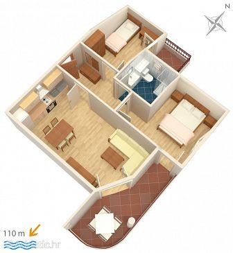 Apartment A-3193-a - Apartments Tučepi (Makarska) - 3193