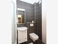 Bathroom - Apartment A-3193-g - Apartments Tučepi (Makarska) - 3193
