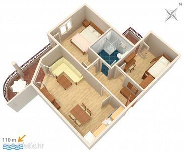 Apartment A-3193-h - Apartments Tučepi (Makarska) - 3193