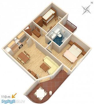Apartment A-3193-i - Apartments Tučepi (Makarska) - 3193