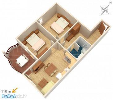 Apartment A-3193-k - Apartments Tučepi (Makarska) - 3193